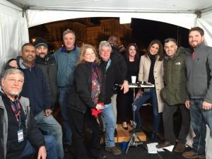 me with ABC crew